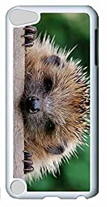 Fashion Customized Case for iPod Touch 5 Generation White Cool Plastic Case Back Cover for iPod Touch 5th with Husky