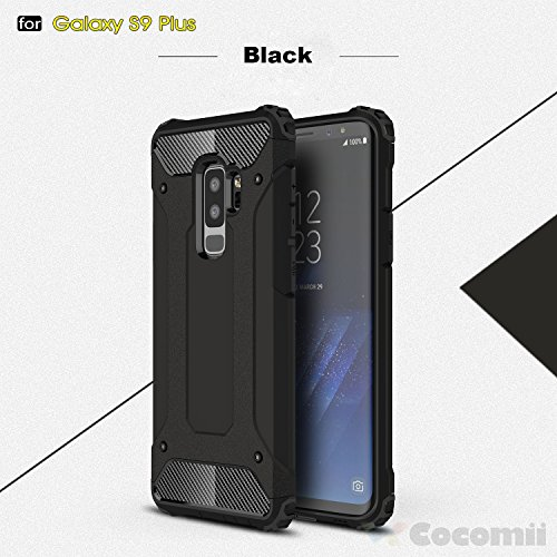 Galaxy S9 Plus Case, Cocomii Commando Armor NEW [Heavy Duty] Premium Tactical Grip Dustproof Shockproof Hard Bumper Shell [Military Defender] Full Body Dual Layer Rugged Cover Samsung