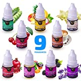 Frentsoil - Fragrance Oil set of 9 Premium Grade scents - Candle Making - Soap Making scents - Home DIY Perfume