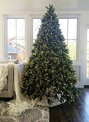 KING OF CHRISTMAS Royal Fir Quick-Shape Artificial Christmas Tree