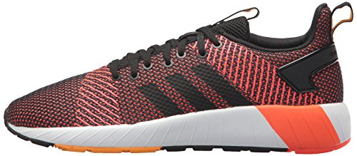 adidas Men's Questar BYD Running Shoe, Black/White/Solar red, 7 M US by adidas (Image #5)