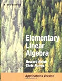 Elementary Linear Algebra with Applications 9780471669593