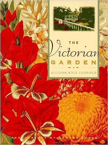 The Victorian Garden Allison K Leopold 9780517586600 Amazon