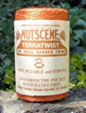 3 Rolls Nutscene Heritage 3-ply Jute Twine: 120m, Orange