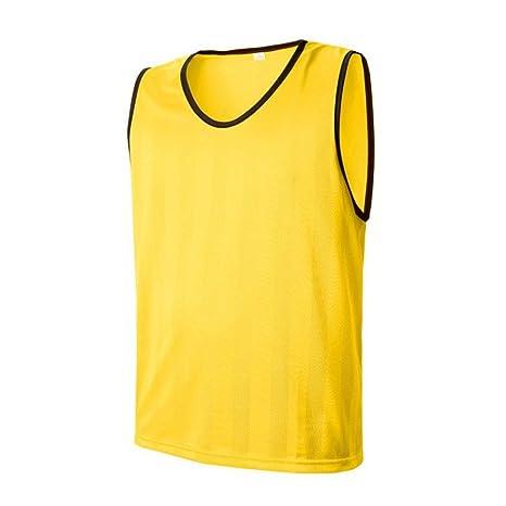 Camisetas Malla Traje de entrenamiento de fútbol Chaleco Chalecos ...