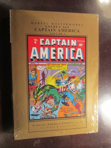 Marvel Masterworks: Golden Age Captain America - Volume 2 by Marvel Comics (2008-07-23)