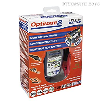 4-step 12V 0.8A Battery charger-maintainer TecMate OptiMATE 2 Global TM-421
