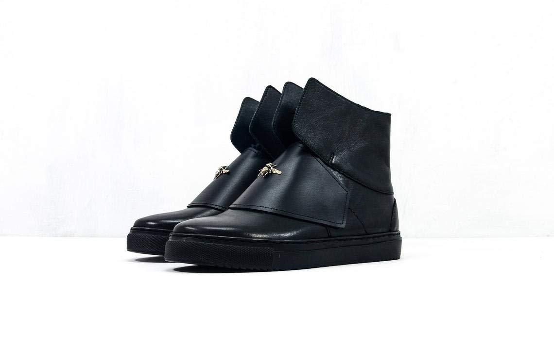 Female Handmade Leather Sneakers