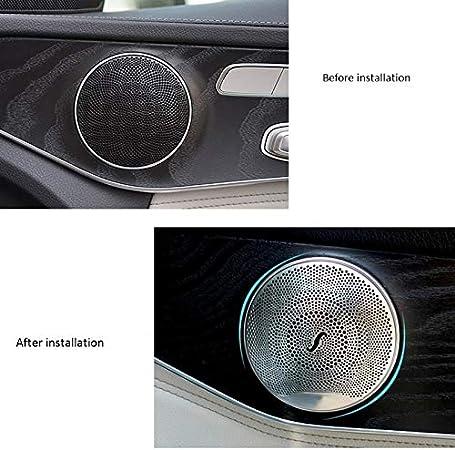 e//C//Classe Glc W213 W205 Opaco CUHAWUDBA Car Coperchio DellAltoparlante del Coperchio DellAltoparlante DellAltoparlante per Mercedes