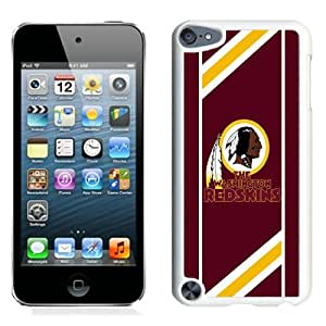 Hot Sale And Popular iPod Touch 5 Case Designed With Washington Redskins 08 White iPod Touch 5 Phone Case