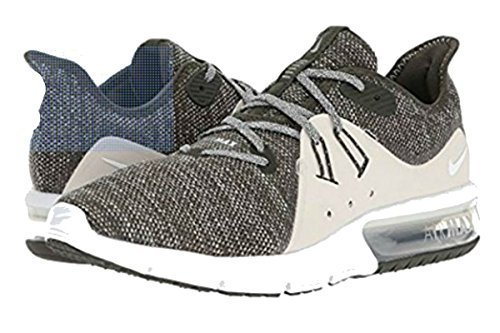 Nike Men's Air Max Sequent 3 Running Shoe (9, SequoiaSummit White Light Bone)