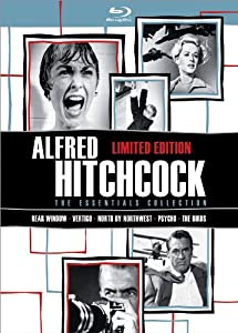 Cover Image for 'Alfred Hitchcock: The Essentials Collection'