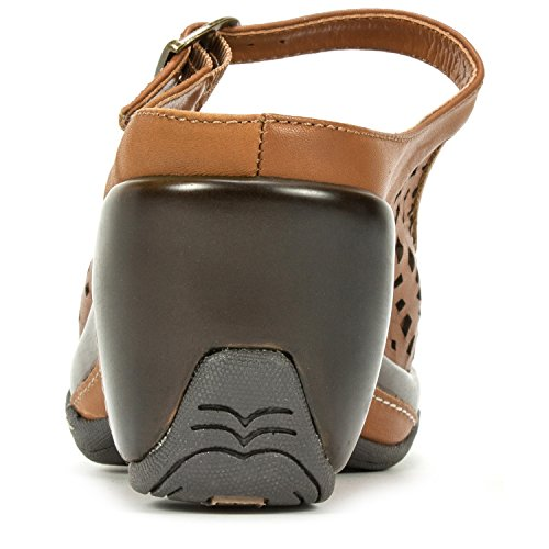 Mountain White Women's Mule Camel Marvy Peep Toe TwUBw7Sx