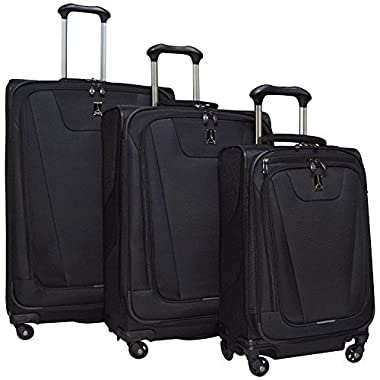 Travelpro Maxlite 4 Expandable Spinner 3 Piece Set (21 /25 /29 ), Black