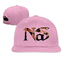 Man&Woman Nas Live At The Barbeque Flat Bill Hat Pink