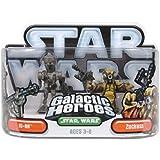 Hasbro 85418 Star Wars Galactic Heroes Mini-Figure 2 Pack - IG-88 and Zuckuss