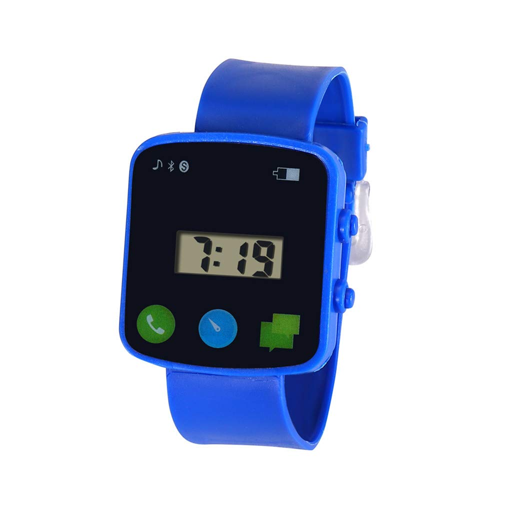 Barhalk Children Analog Digital Wristwatch Boys and Girls 30M Waterproof Watch Sport LED Electronic Watches Gift Souvenir for Children' Day Birthday