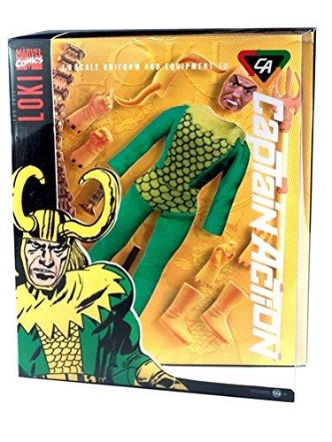 Loki Deluxe Costumes (Captain Action Loki Deluxe Costume Set by Captain Action)