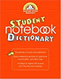 Random House Webster's Student Notebook Dictionary, Random House, 0375721207