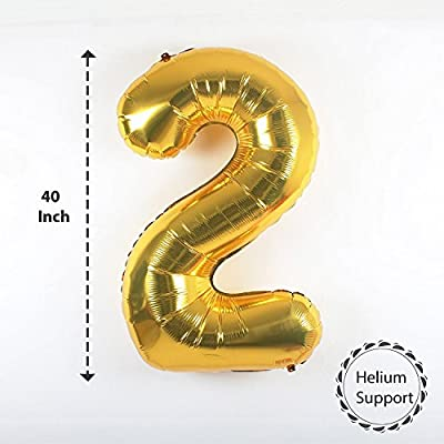 2017 BALLOONS GOLD DECORATIONS BANNER with Black and Gold Latex Balloon,Gold Metallic Foil Fringe Shiny Curtain, Perfect for Event,Bridal Wedding and Graduations Party Supplies
