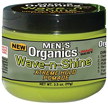 Miraculous Amazon Com Organics Mens Wave And Shine Extreme Hold Pomade 3 5 Hairstyles For Men Maxibearus