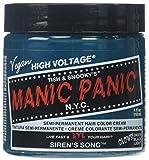Manic Panic Siren's Song Formula Semi-Permanent Hair Color Cream, 4 oz.
