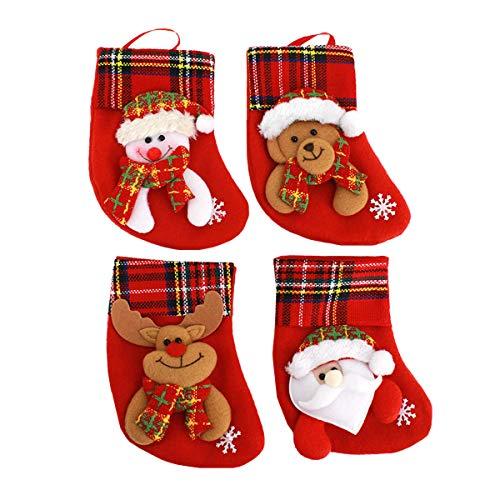 Sun Kea Christmas Stockings Gift & Treat Bag