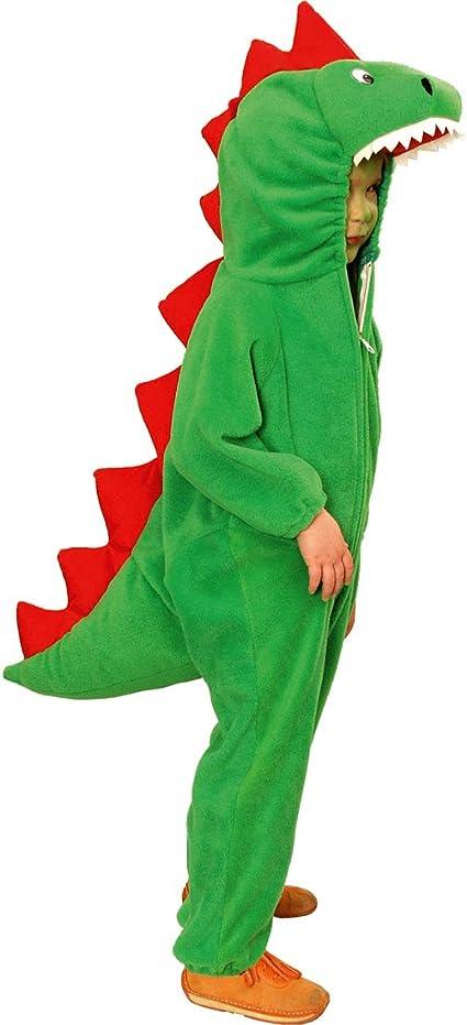 NET TOYS Original Disfraz de Dinosaurio para niño - Verde 99 - 104 ...