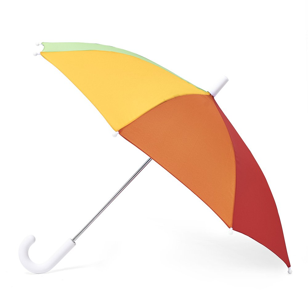Hipsterkid Child Size Umbrella, in Rainbow