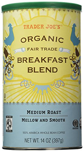 Trader Joes Organic Breakfast Coffee