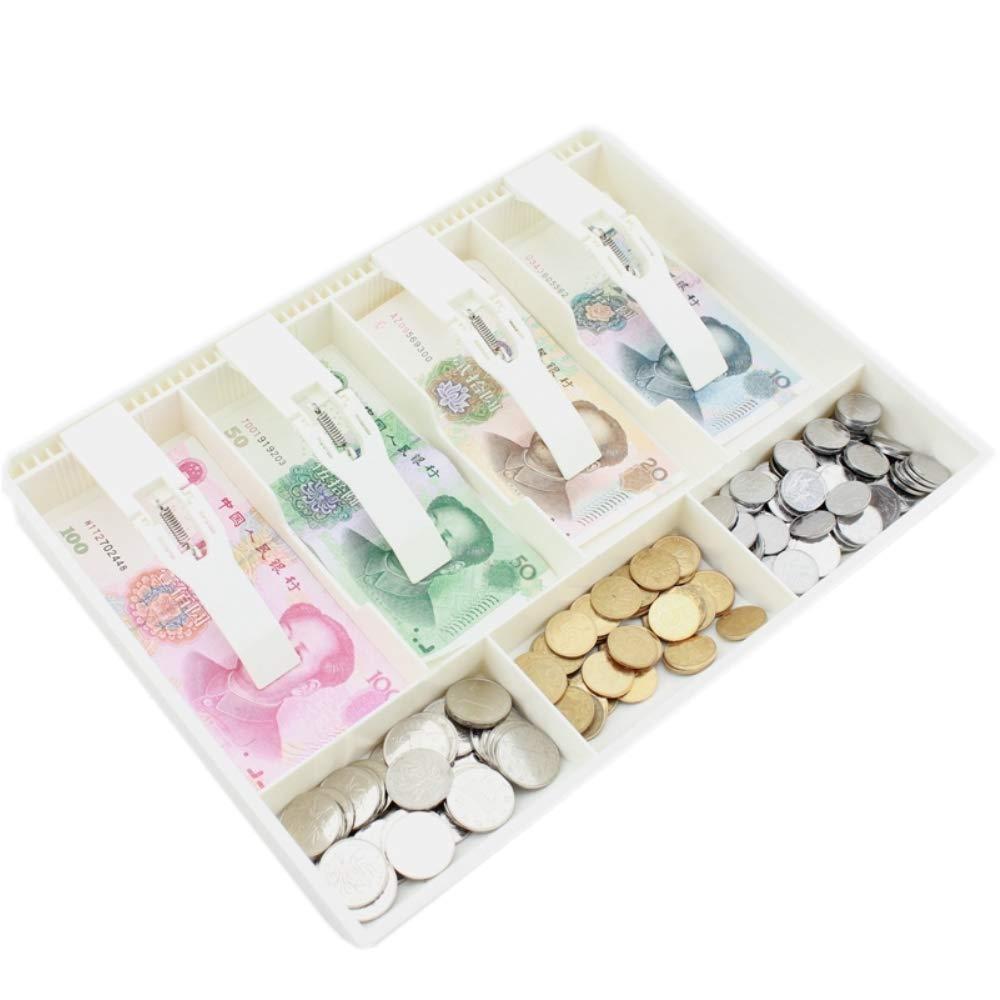 Caja de Almacenamiento Bandeja de Repuesto para cajones MBLUE Caja de Almacenamiento para Dinero en Efectivo