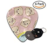 toaster clamp - Toast And Toaster Celluloid Guitar Picks 6 Pack Includes Thin, Medium, Heavy & Extra Heavy Gauges