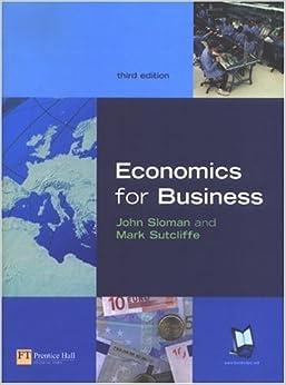 Book Economics for Business by John Sloman (2004-02-28)