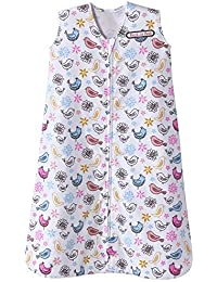 Sleepsack Cotton Wearable Blanket, Multi Bird Print, Large