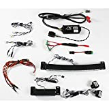 Genuine MyTrickRC - MYK-AO1262 Ultimate Off Road Light System for scale RC, Powers off any 2 or 3 cell Lipo or NiMH Battery and Includes Headlights/Tail/Reverse Lights, Waterproof, Plug and Play