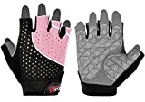 Womens Weight Lifting Gloves, Callus Guard WOD Workout Gloves for Pro or Beginners - Great Weightlifting Gym Gloves for Powerlifting, CrossFit, Kettlebell...