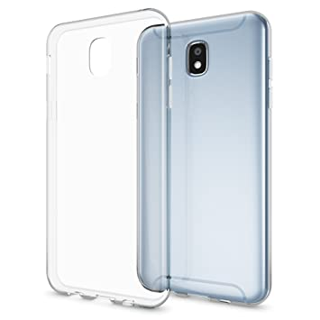 Samsung Galaxy J3 2017 (EU-Model) Funda Carcasa de NALIA, Protectora Movil TPU Silicona Ultra-Fina Gel Transparente/Cubierta Goma Cover Case Clear ...