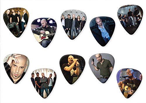 Daughtry (Limited to 100) Set of 10 Electric Acoustic Guitar Plectrums