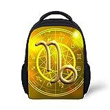 Preschool Backpack, Little Kid Backpacks for Boys and Girls Zodiac Sign Capricorn