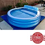 Inflatable Swimming Pool Lounger Kids Adults Pool Swimming Party Inflatable Raft & E book By Easy2Find