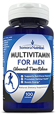 Sonora Nutrition Multivitamin for Men Advanced Time Release, 100 Capsules