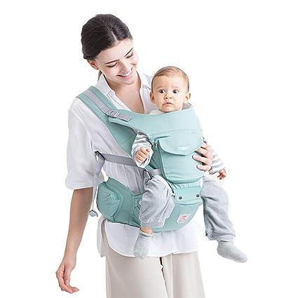 311d19b37a81a0 Marsupio Bambino Neonato Ergonomico in Cotone Marsupio Porta Bebè Morbido  Frontale da 0 Mesi a 3 Anni Zaino Baby Carrier Bimbo Neonati Bambini da  30kg ...