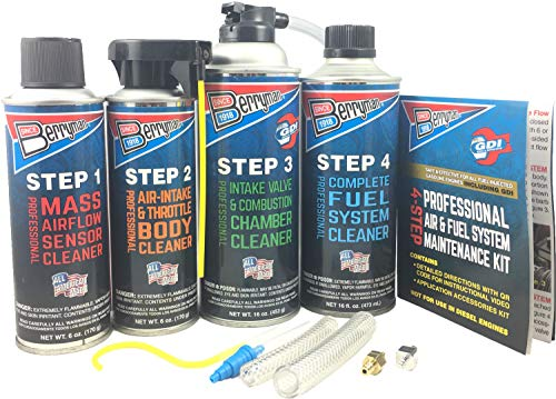 (Berryman Products 2640 4-Step Professional Air & Fuel System Maintenance Kit,)