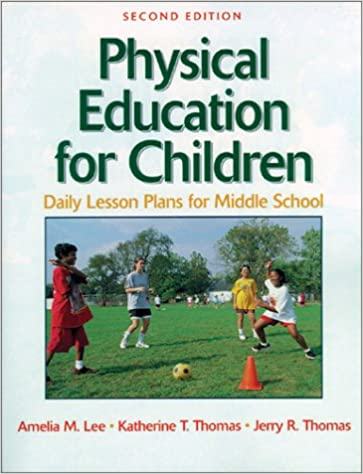 physical education for children daily lesson plan midl school 2e