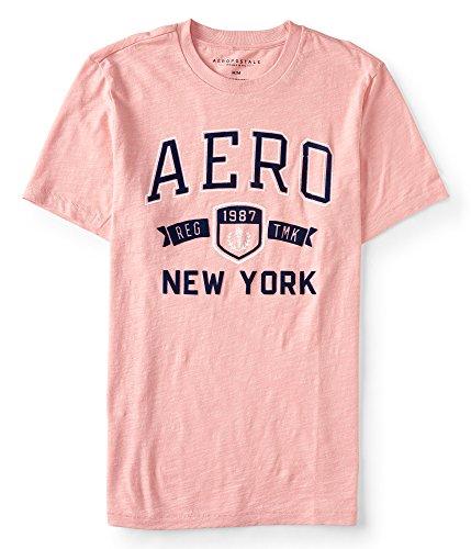 Aeropostale Men's Aero New York Trademark Logo Graphic Tee Medium - Men Aero