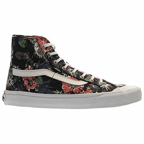 Vans Damen Black Ball Hallo SF High-Top Leinwand Skateboard Schuh (Desert Floral) Schwarz