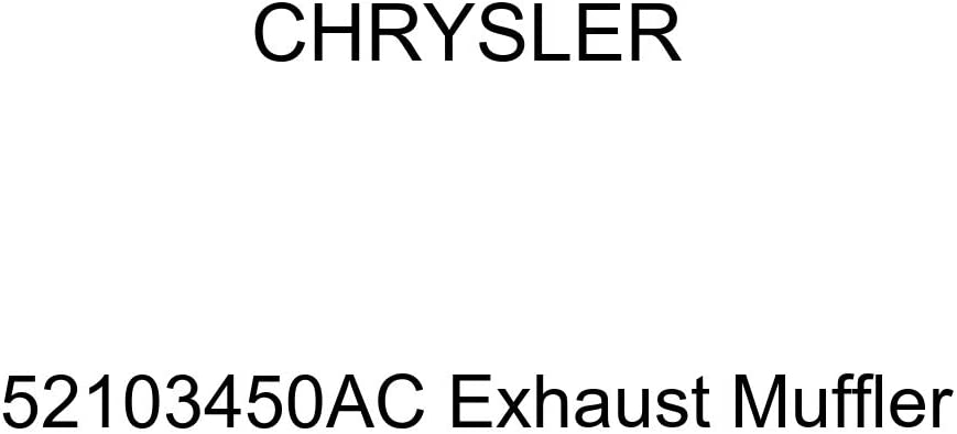 Genuine Chrysler 52103450AC Exhaust Muffler