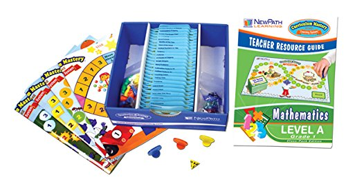 NewPath Learning Mastering Math Curriculum Mastery Game, Grade 1, Class Pack