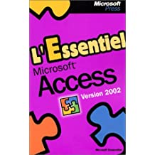 l'essentiel access version 2002 (poche)