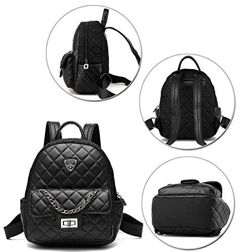 G-AVERIL - Bolso mochila  para mujer Rojo Red negro